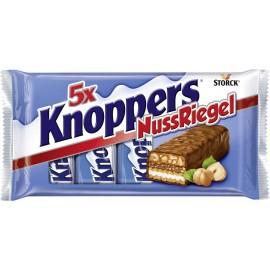 Storck Knoppers Nussriegel / Nut Bar 5 x 40 g / 1.7 oz
