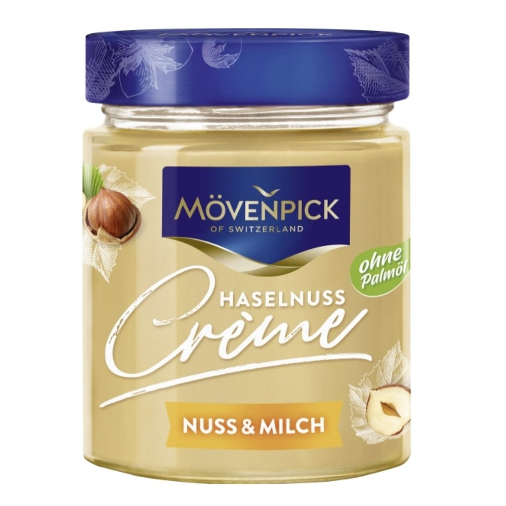 Mövenpick Hazelnut Creme Nut & Milk 300 g / 10 oz