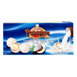 Papagena Waferballs Coconut 120 g / 4.23 oz