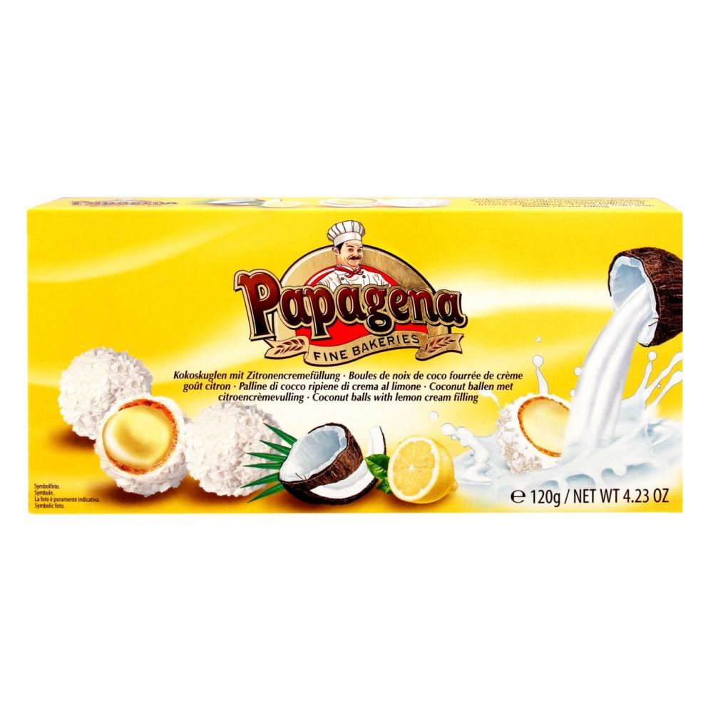Papagena Waferballs Coconut Lemon 120 g / 4.23 oz