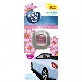 Ambi Pur Car Mini Freshener Flowers and Spring 2 ml
