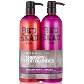 Tigi Bed Head Dumb Blonde Shampoo + Conditioner 750 ml / 25.36 fl oz