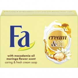 Fa Cream & Oil Macadamia Oil Soap Bar 100 g / 3.4 oz