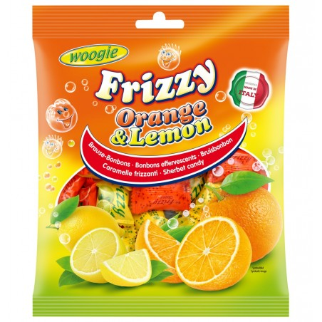 Woogie Frizzy Orange & Lemon 250 g / 8.82 oz